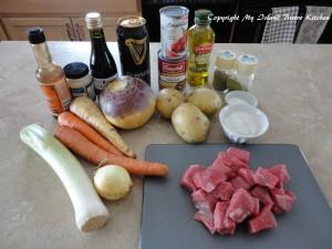 Ingredients for Spirited Irish Stew