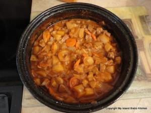 Spirited Irish Stew - Cooked