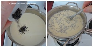 Adding Lavender to Custard