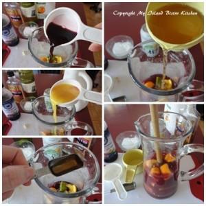 Adding the Liquid Ingredients