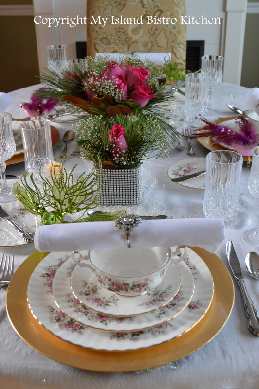 & Christmas Eve Tablesetting and Dinner - My Island Bistro Kitchen