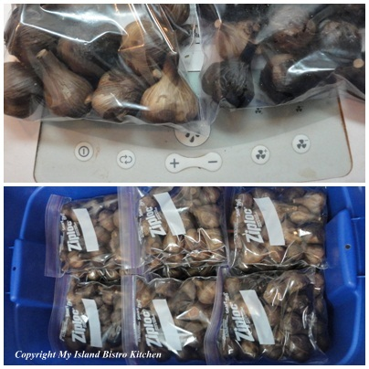 Black Garlic Packaged for Sale