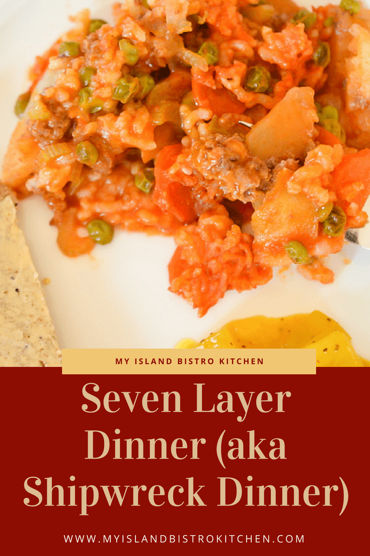 Seven Layer Dinner (aka Shipwreck Dinner)