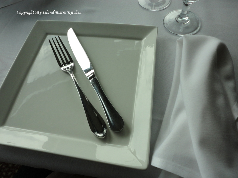 Proper Location of Napkin During Brief Absence from the Table During the Meal and at the Conclusion of the Meal