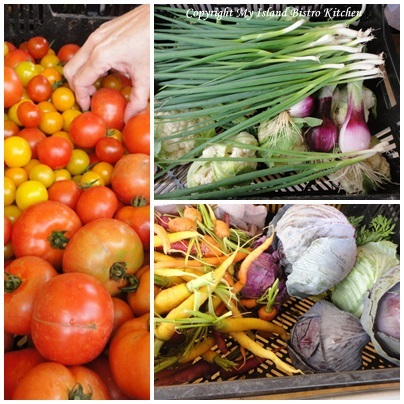 Extra Veggies in the Grab/Swap Boxes