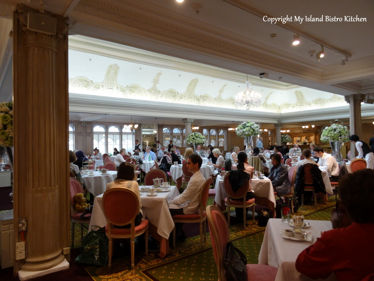 Afternoon Tea at the Georgian Restaurant at Harrods