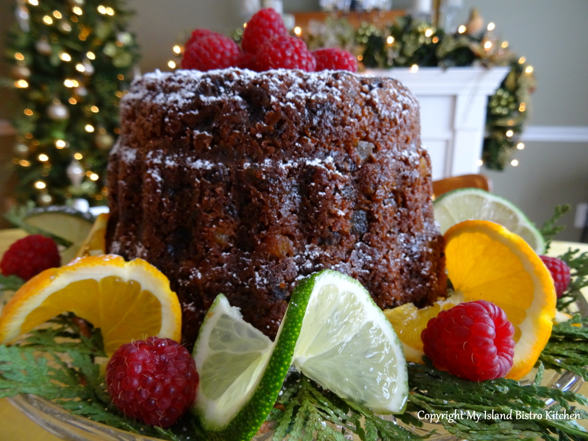 My Island Bistro Kitchen's Plum Pudding