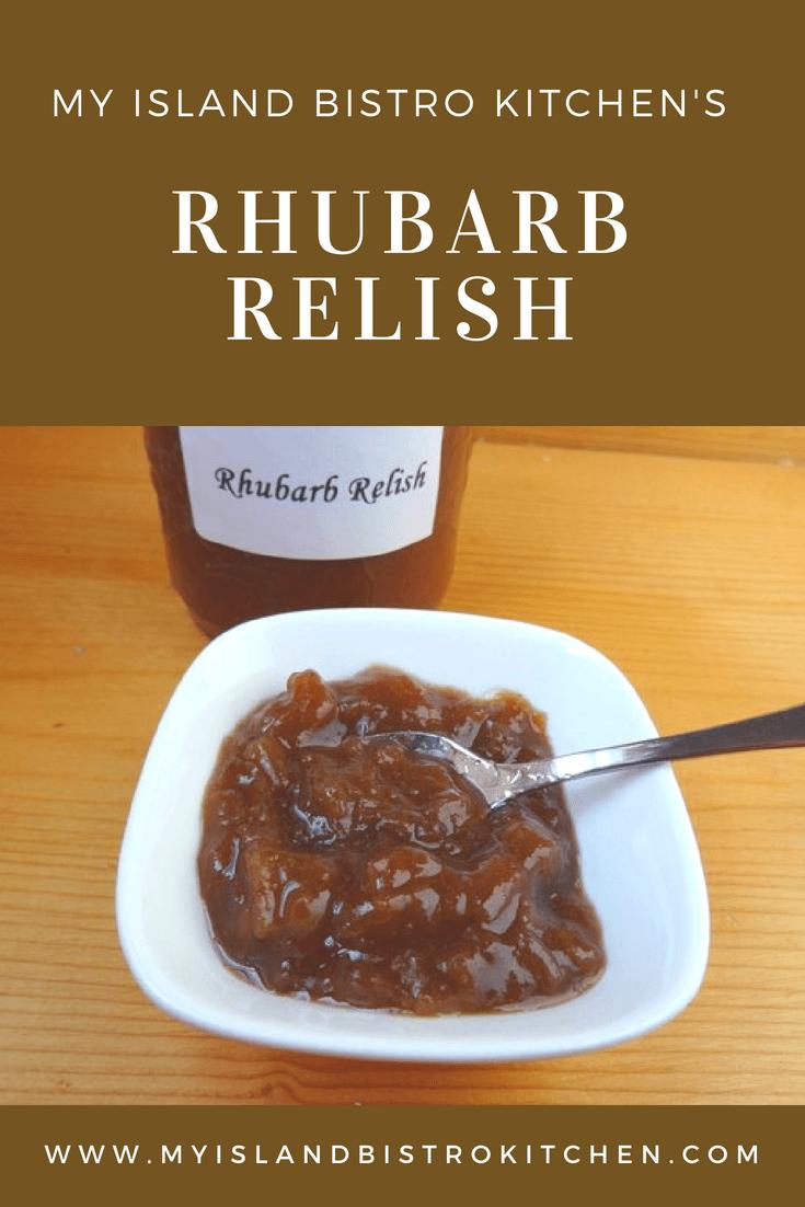 Rhubarb Relish