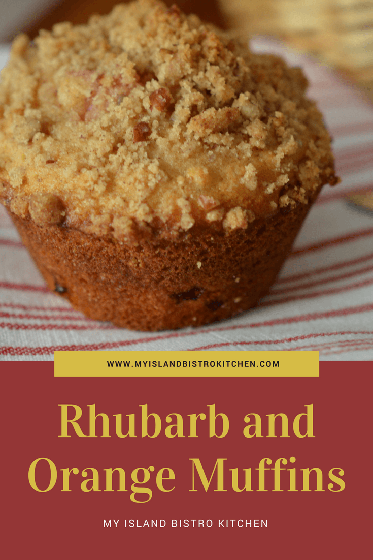 Rhubarb and Orange Muffins