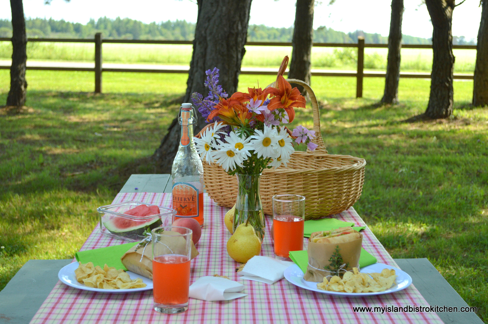 A Casual Summer Afternoon Picnic My Island Bistro Kitchen