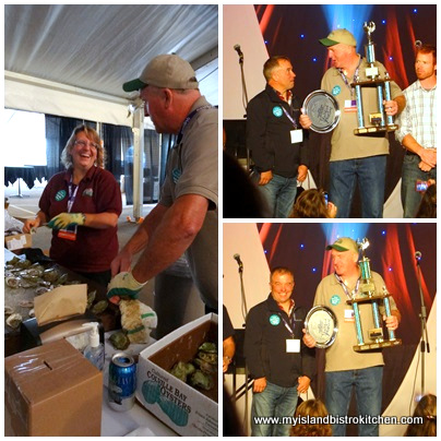 Oyster Grower Award & Peoples' Choice Award - Colville Bay Oysters