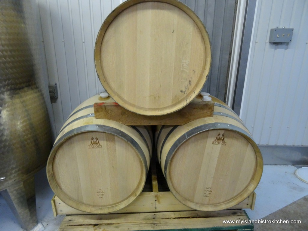 Traditional Oak Barrels for Aging Wine
