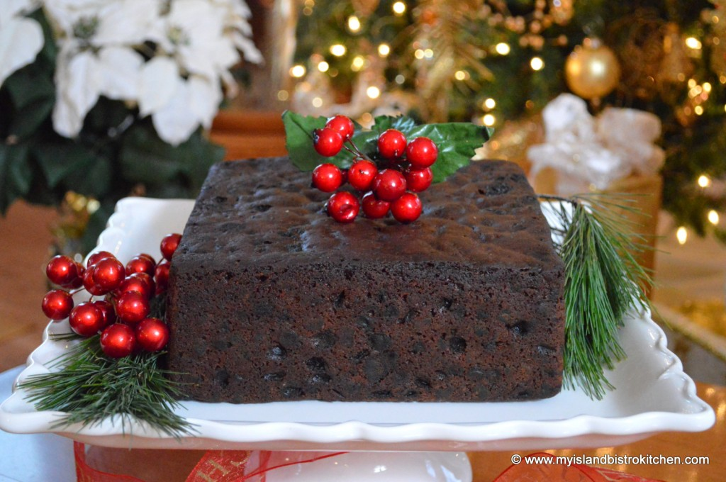 My Island Bistro Kitchen's Dark Fruitcake