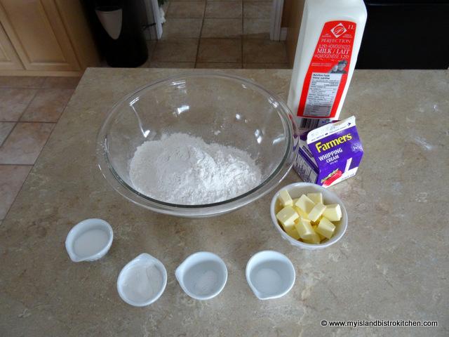 Tea Biscuit Ingredients