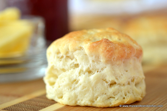 Tea Biscuits - My Island Bistro Kitchen