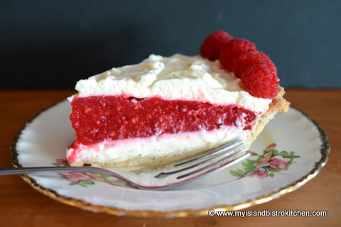 Raspberry Cream Cheese Pie