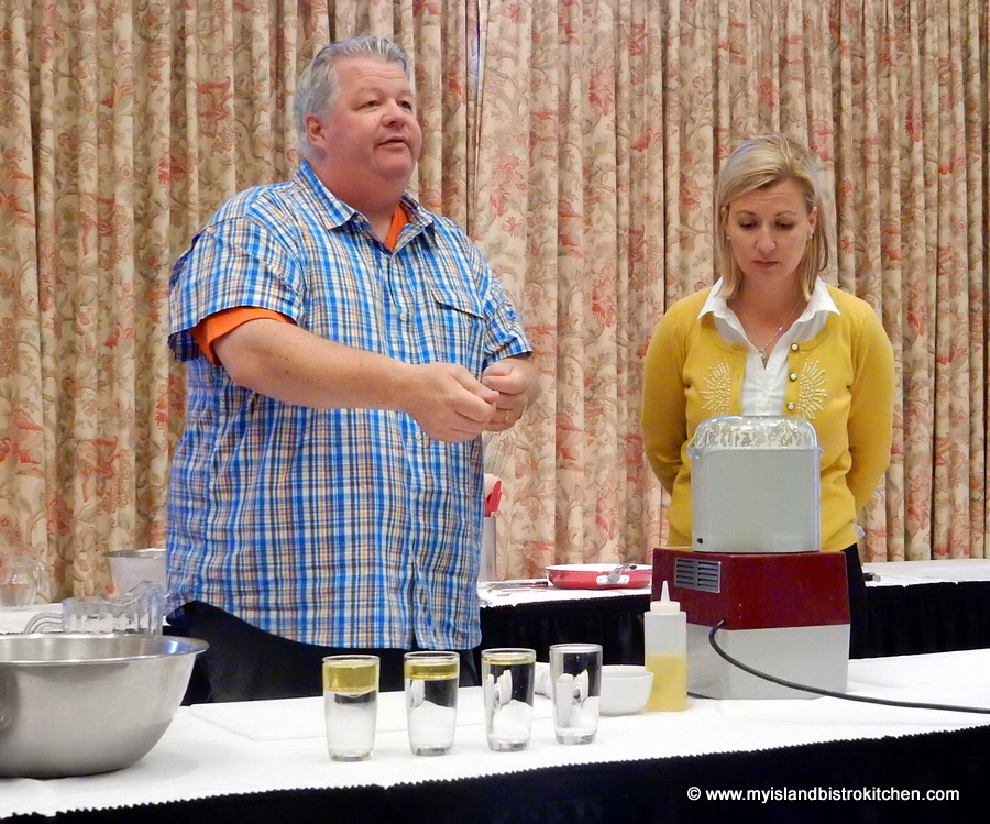 Chefs Anna & Michael Olson Cooking Demonstration, PEI Fall Flavours Culinary Festival 2015