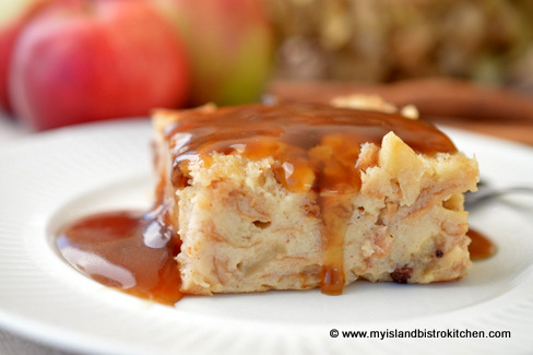 apple maple bread pudding apple maple bread pudding