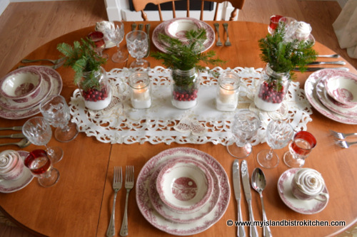 Twas The Night Before Christmas Tablesetting & Johnson Brothers Twas The Night Archives - My Island Bistro Kitchen