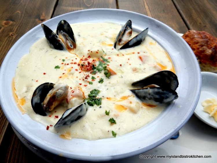 Blue Mussel's Seafood Chowder