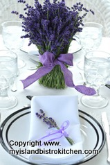 Lavender Tablesetting