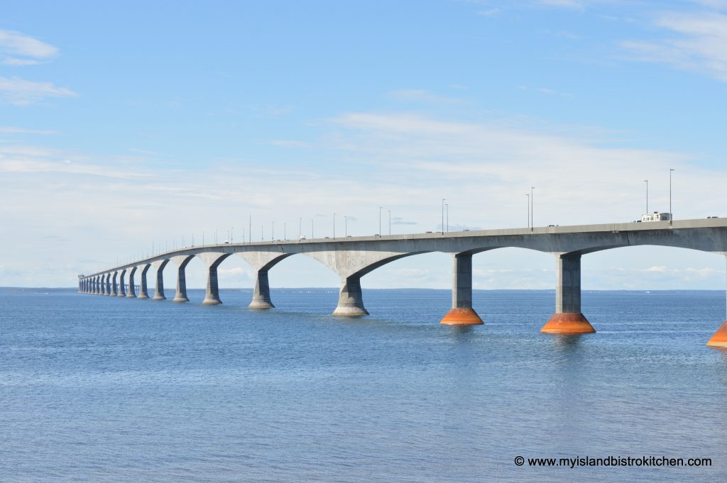 Bridge between PEI and New Brunswick