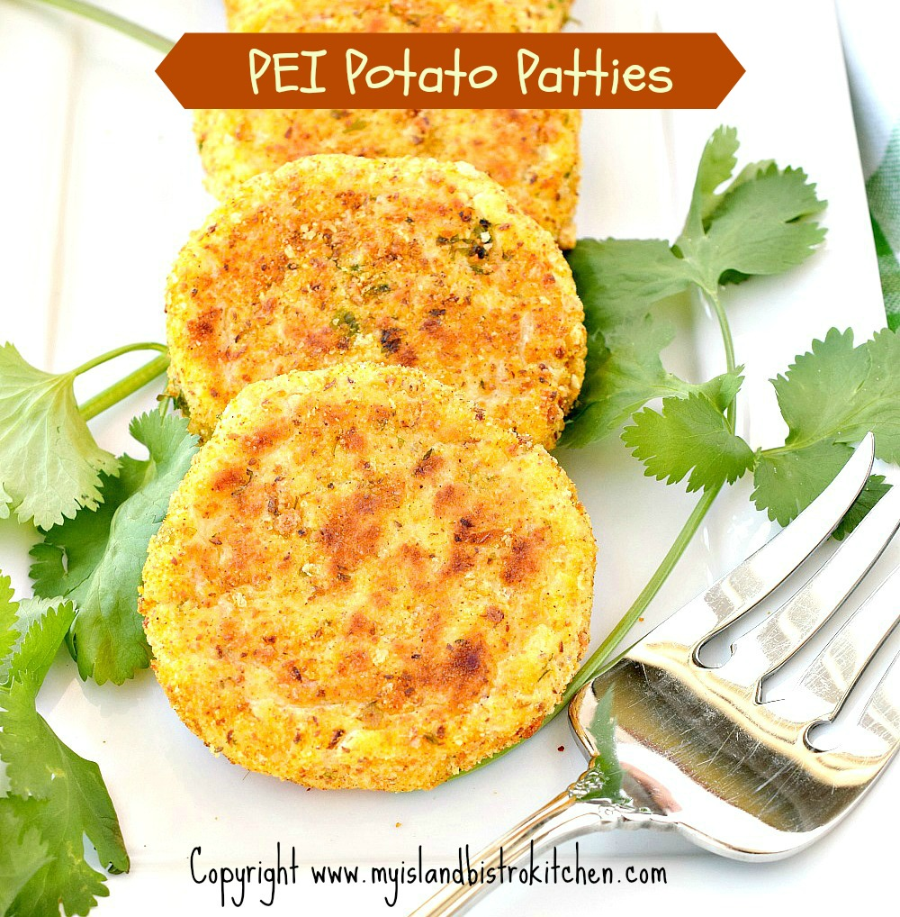 PEI Bistro-style Potato Patties