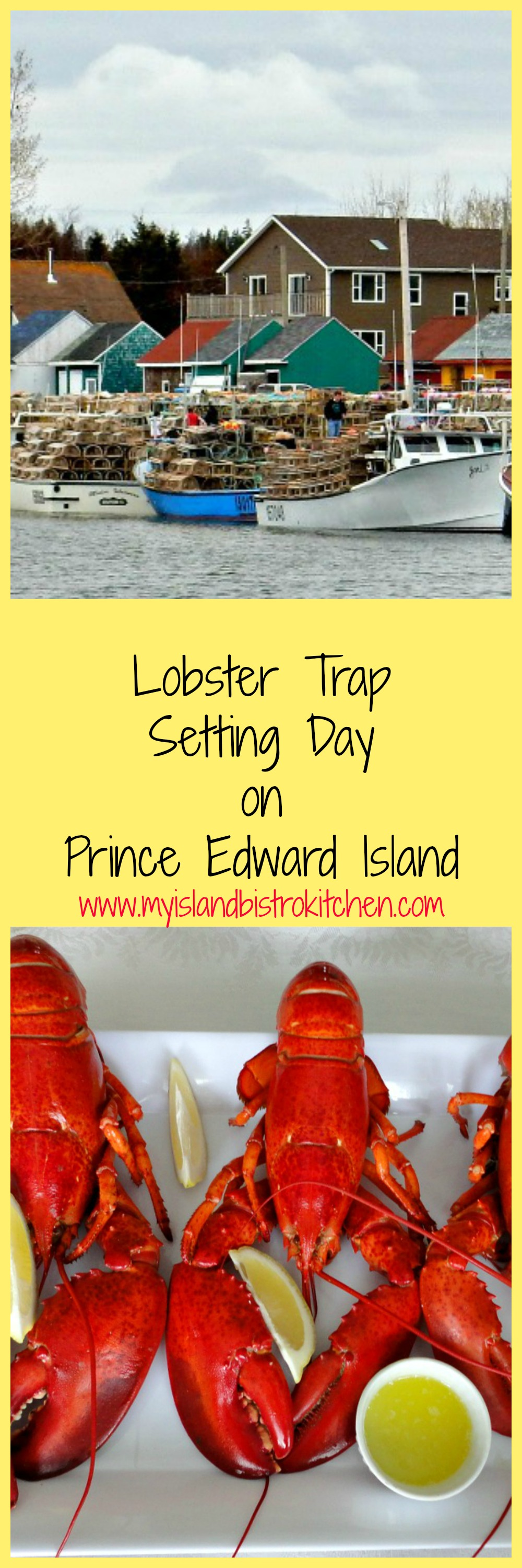 Setting Day marks the beginning of the PEI lobster fishing season as fishers set their lobster traps in the water