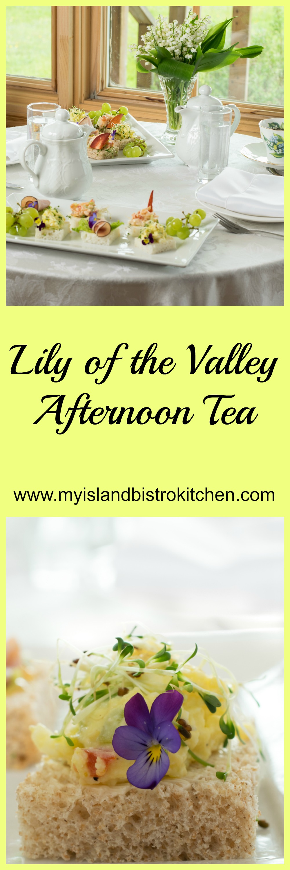 Lily of the Valley Themed Afternoon Tea