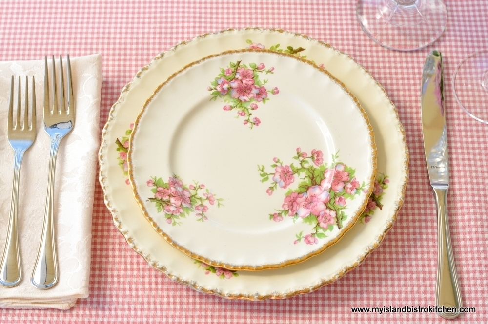 Grindley (England) Cream Petal Dishes (Apple Blossom Pattern)