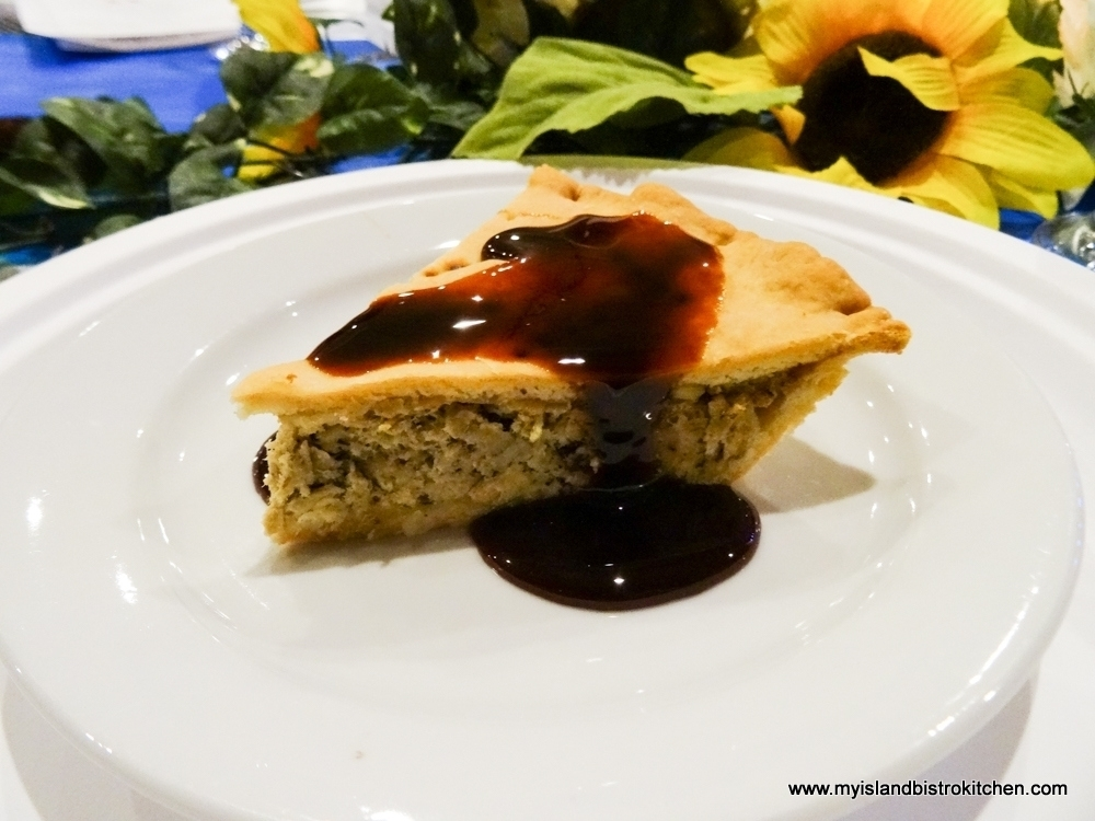 Acadian Meat Pie with Molasses