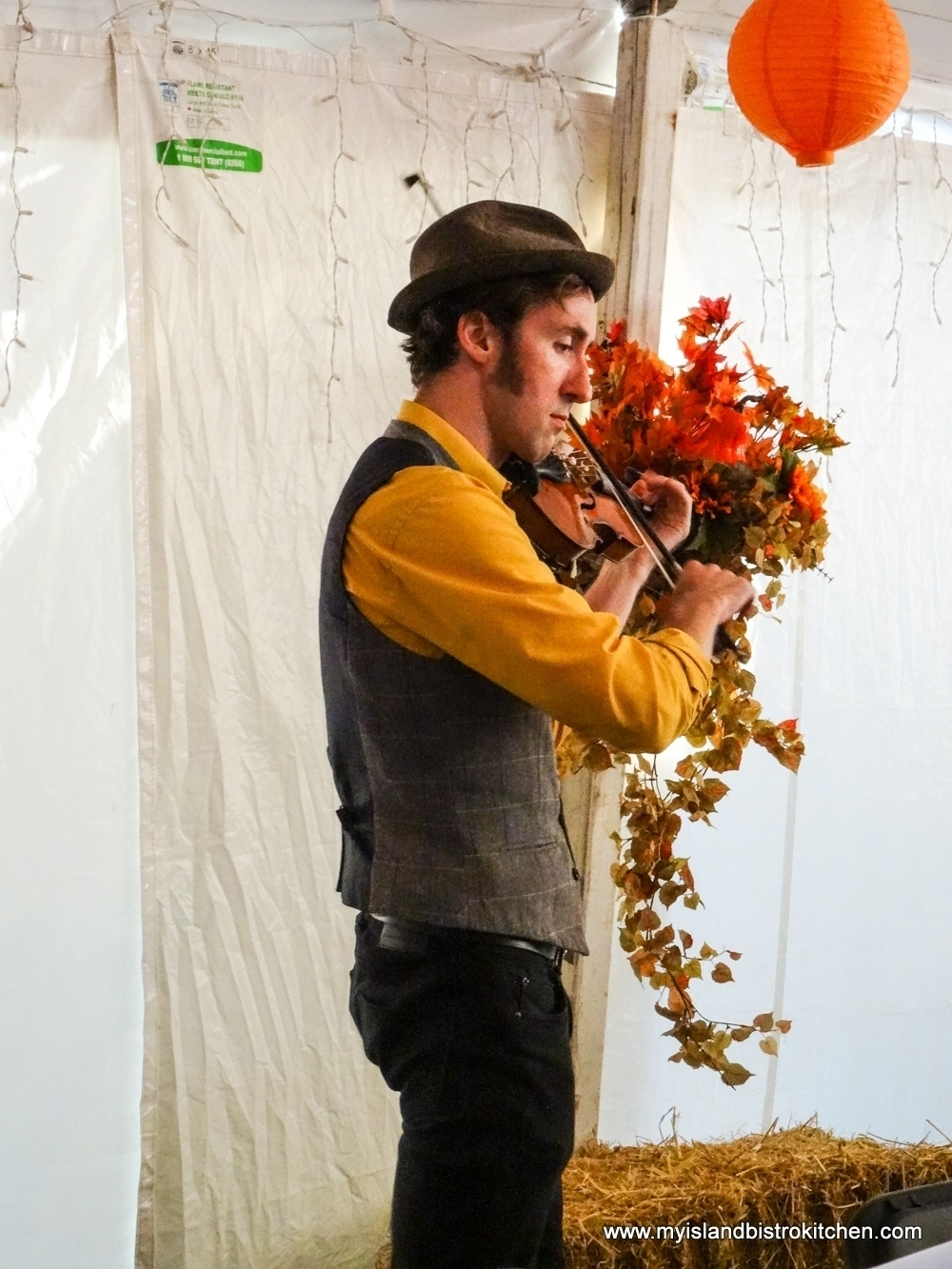 "Island Fiddler, Gordie MacKeeman Performing at the ""Taste of Tyne Valley"" PEI Fall Flavours 2017 Event"