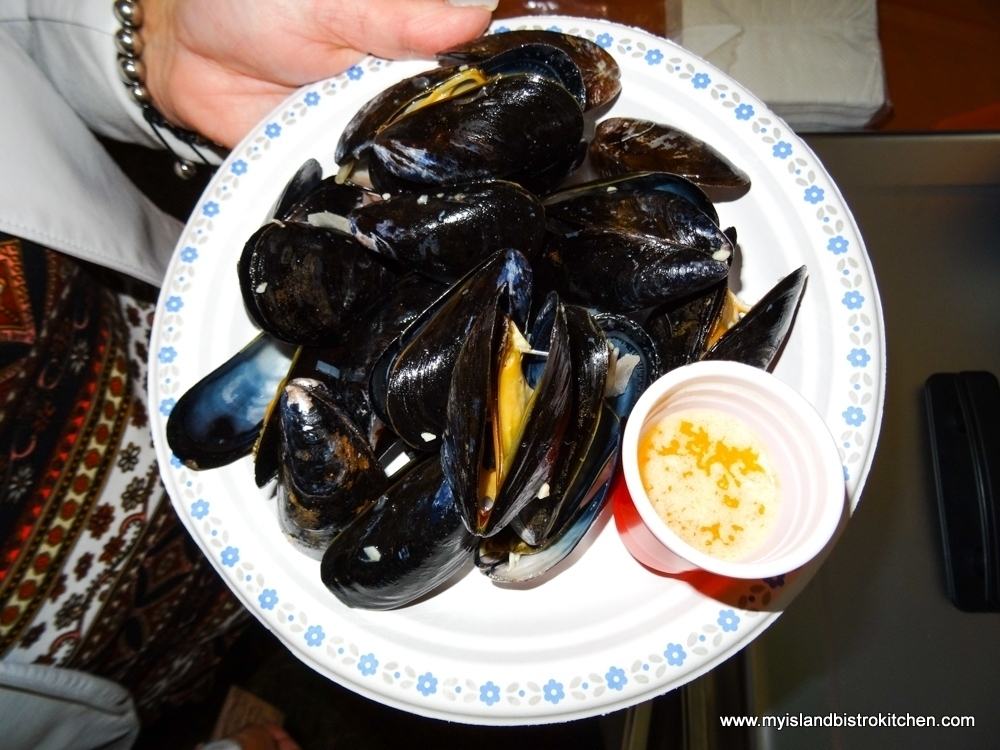 "Island Blue Mussels at the ""Taste of Tyne Valley"" PEI Fall Flavours 2017 Event"