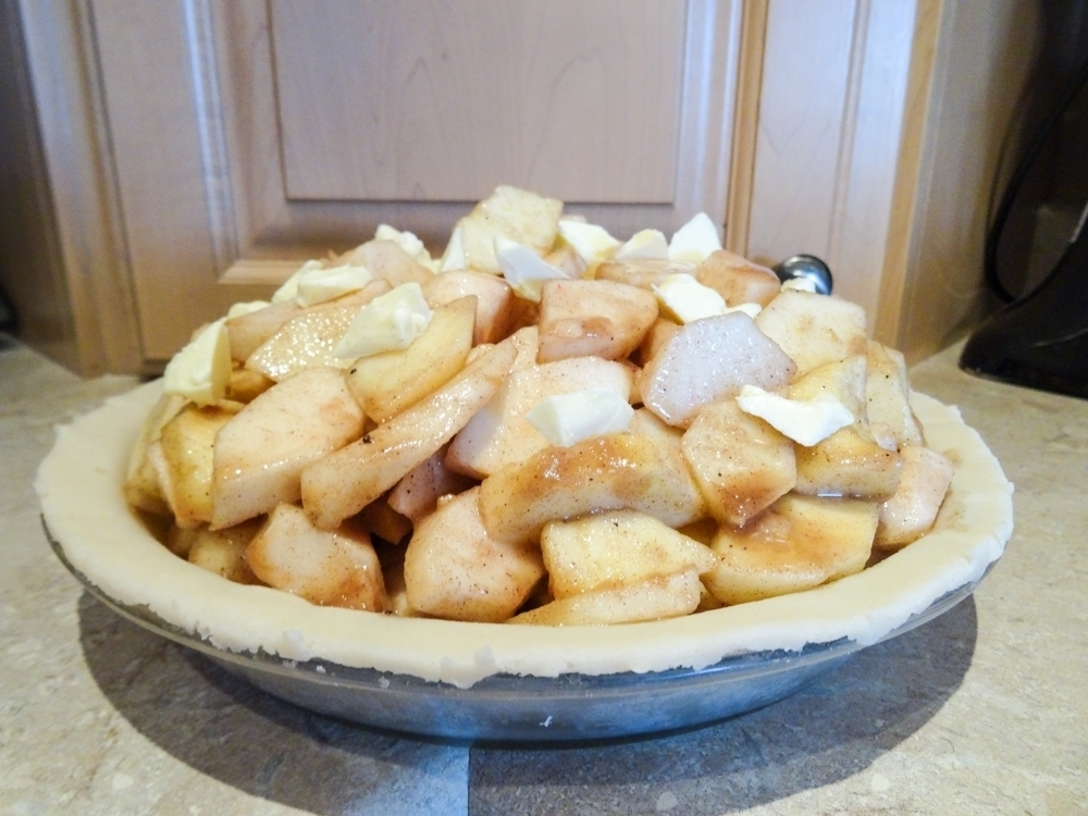 Apple Pie Under Construction