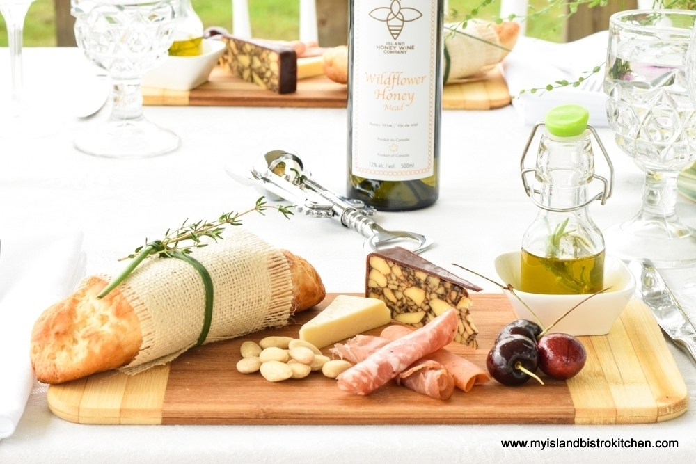 Individually-prepared Charcuterie-Cheese-Fruit Boards