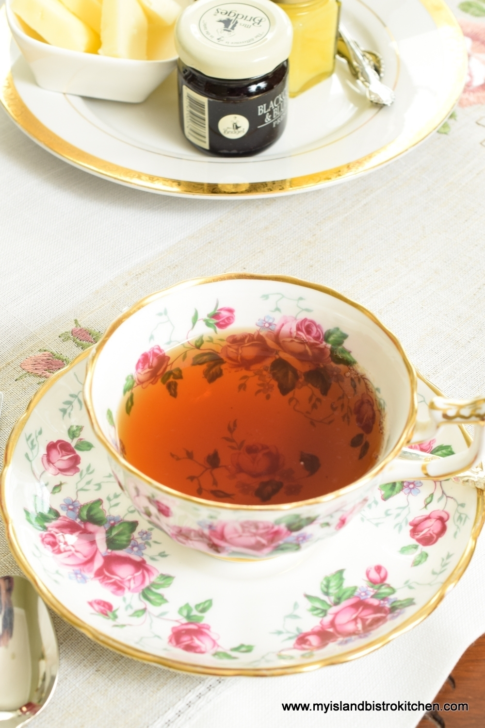 China Teacup and Saucer