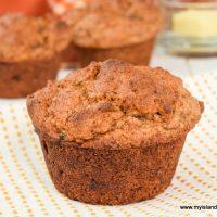 Gluten-free Pumpkin Mincemeat Muffins