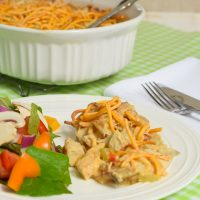 Chicken Chow Mein Casserole