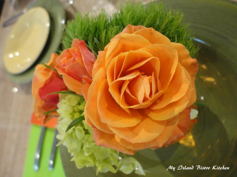 Individual Floral Arrangement at each Place Setting