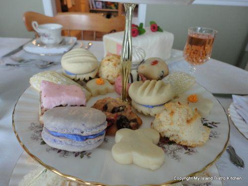 Sweet Tray at Mother's Day Tea