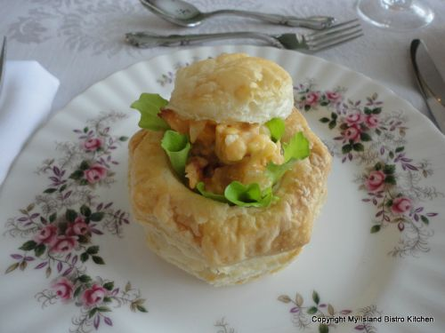 Lobster Salad in Puff Pastry