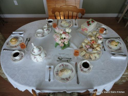 Mother's Day Tea Table