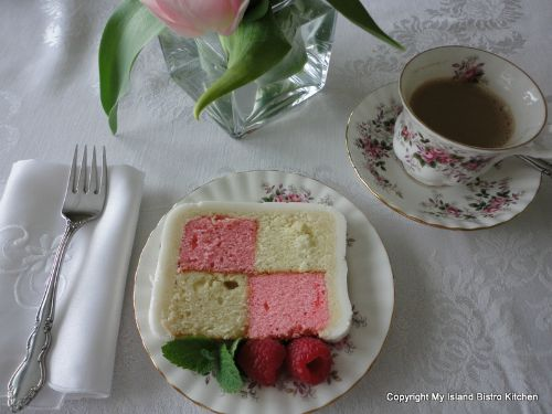 Battenburg Cake 