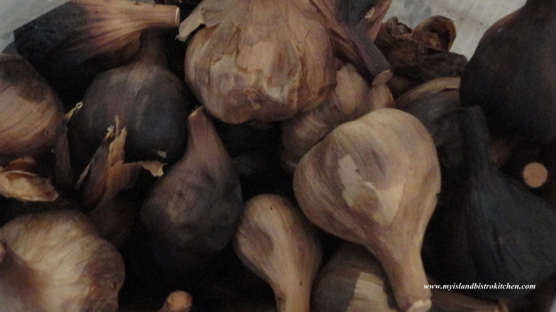 Black Garlic Bulbs