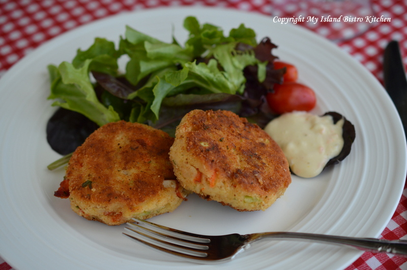 Lobster Cakes with Citrus Aioli