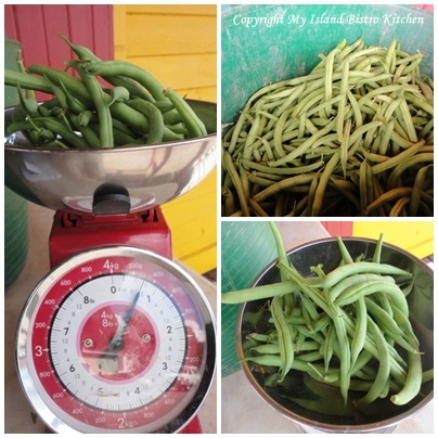 Green Beans in the Grab/Swap Boxes