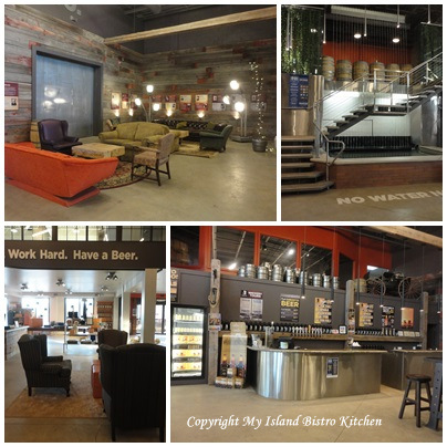 Lobby and Bar at the Prince Edward Island Brewing Co