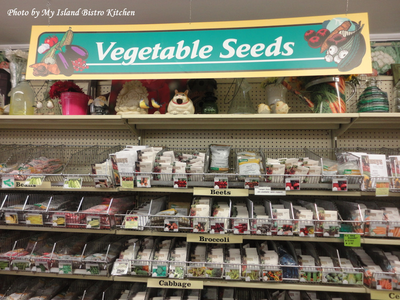 A Small Sample of the Seed Section at Vesey's Store in York, PEI