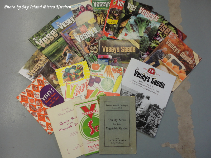 Vesey's Seed Catalogues Throughout the Years
