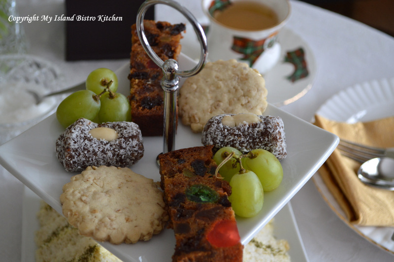 Oatcakes at Afternoon Tea
